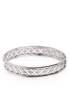 Belk & Co. Sterling Silver Bangle Bracelet