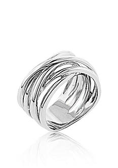 Belk & Co. Sterling Silver Ring