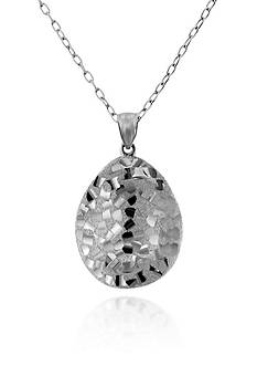Belk & Co. Sterling Silver Pendant