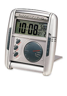 Seiko Get Up & Glow Travel Alarm Clock