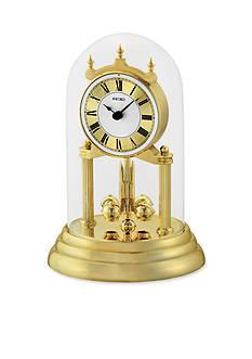 Seiko Brass Mantel Anniversary Clock