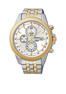 Seiko Men's 100 Meter Chronograph Watch