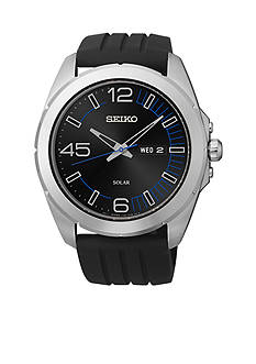 Seiko Men's 100 Meter Stainless Steel Solar Millennial Watch
