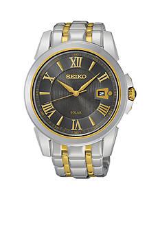 Seiko Men's Two Tone Le Grand Sport Solar Watch