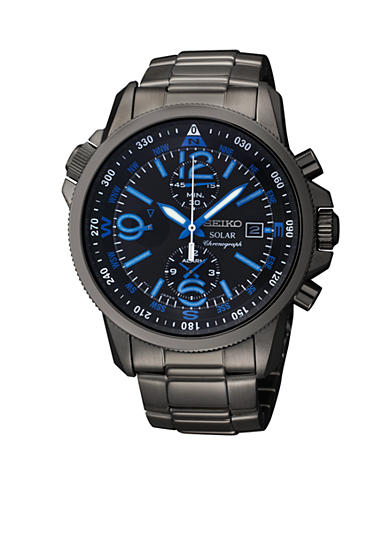 Seiko Men's 100 Meter Solar Adventure Chronograph