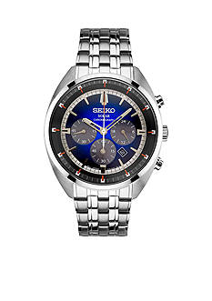 Seiko Men's Stainless Steel RECRAFT Series Solar Chronograph Watch