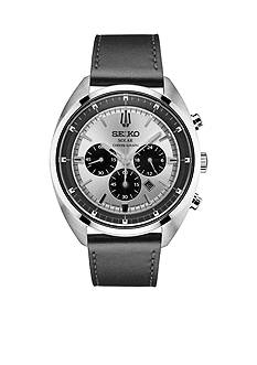 Seiko Men's Stainless Steel Recraft Solar Chronograph Watch