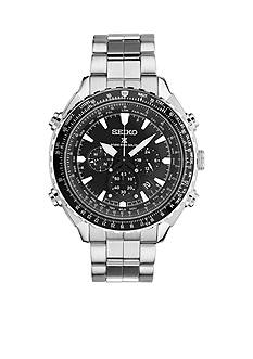 Seiko Stainless Steel Prospex Radio Sync Solar Chronograph Watch