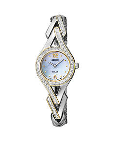 Seiko Women's Two-Tone Solar Watch