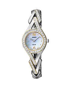 Seiko Women's Two-Tone Solar Watch