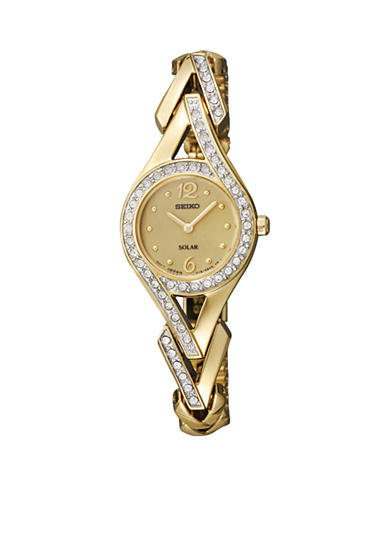 Seiko Women's Gold-Tone Solar Watch