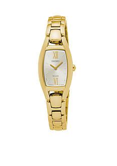 Seiko Women's Solar Gold-Tone Watch