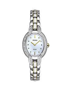 Seiko Women's Two-Tone Tressia Solar Watch