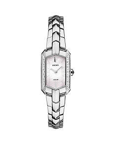 Seiko Women's Stainless Steel Tressia Solar Watch