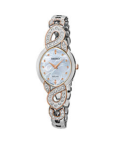Seiko Ladies Solar Silver Watch