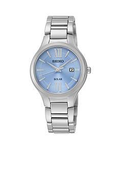 Seiko Blue Dial Solar Watch