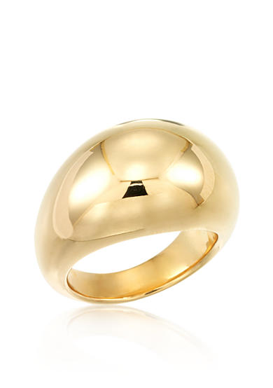 Modern Gold™ 14k Yellow Gold Dome Ring