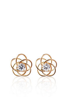 Belk & Co. 14k Love Knot Earring Jackets