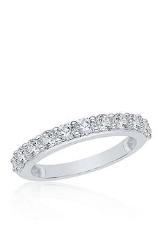 Belk & Co. 1/4 ct. t.w. Diamond Wedding Band set in 14K White Gold