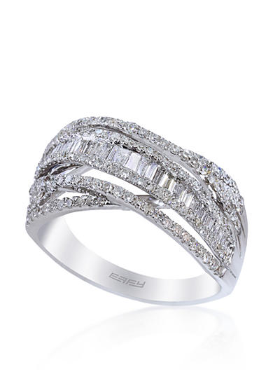 Effy® Diamond Ring in 14k White Gold