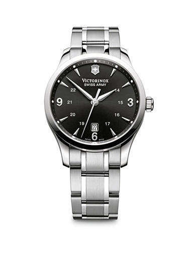 Victorinox Swiss Army Alliance Large Black Dial Bracelet Watch