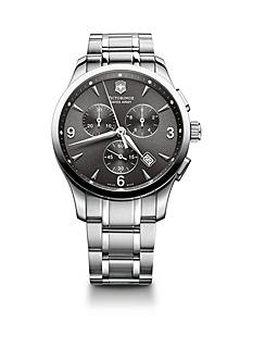 Swiss Army Men's Alliance Stainless Steel Chronograph Watch