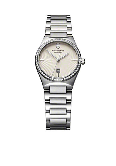 Victorinox Swiss Army Victoria Diamond Bezel Bracelet Watch