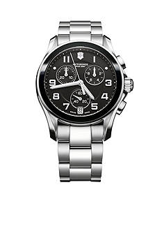 Victorinox Swiss Army Chrono Classic Black Ceramic Watch