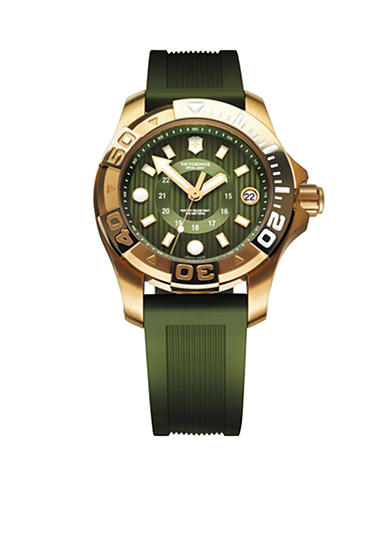 Victorinox Swiss Army Dive Master 500 Mid Size Gold/Green