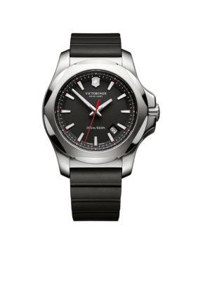 Victorinox Swiss Army  Inc  Inox Black Rubber Watch -  54001182416821