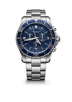 Victorinox Swiss Army Men's Maverick Stainless Steel Chronograph Watch