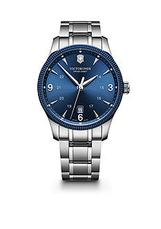 Victorinox Swiss Army Men's Alliance Stainless Steel Bracelet Watch
