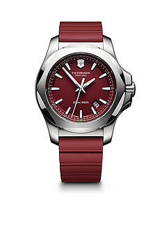 Victorinox Swiss Army Men's I.N.O.X. Red Rubber Watch