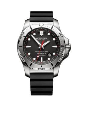 Victorinox Swiss Army  Inc  Men's I.N.O.X. Professional Diver Black Dial Watch -  54001182417331