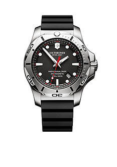Swiss Army Men's I.N.O.X. Professional Diver Black Dial Watch