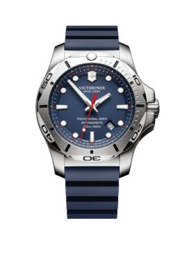 Victorinox Swiss Army  Inc  Men's I.N.O.X. Professional Diver Blue Dial Watch -  54001182417341
