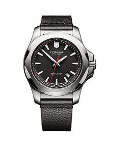 Swiss Army Men's I.N.O.X. Black Dial Watch