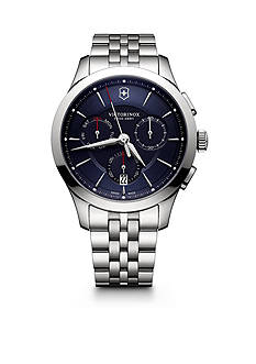 Swiss Army Alliance Chronograph Blue Dial Stainless Steel Bracelet