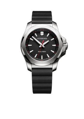 Victorinox Swiss Army  Inc  Women's I.N.O.X. Black Rubber Watch -  5400118241768