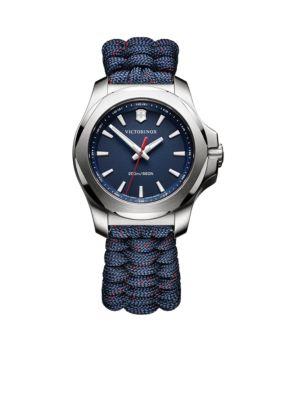Victorinox Swiss Army  Inc  Women's I.N.O.X. Blue Paracord Watch -  5400118241770