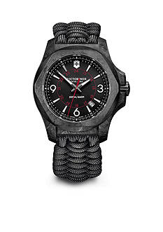 Swiss Army Men's I.N.O.X. Carbon Black Dial Watch