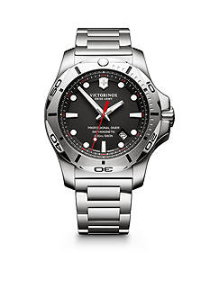 Victorinox Swiss Army, Inc. I.N.O.X. Professional Diver Black Dial Watch