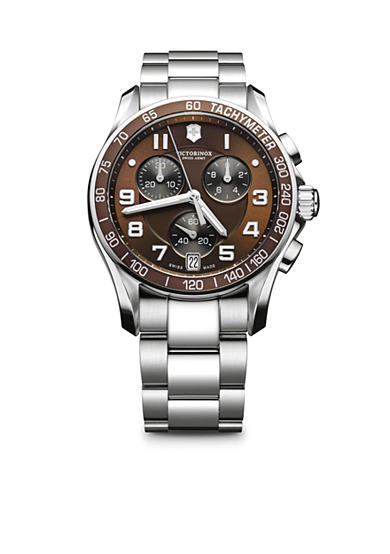 Victorinox Swiss Army Chronograph Classic Brown