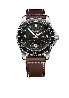 Victorinox Swiss Army Men's Maverick Large Black Watch