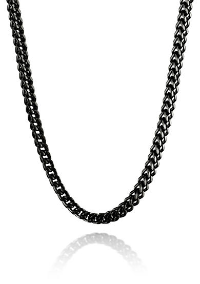 Belk & Co. Mens Stainless Steel Chain Necklace