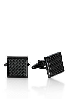 Belk & Co. Men's Stainless Steel Cufflinks