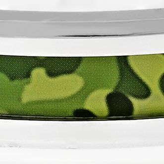 Men: Bracelets Sale: Green Belk & Co. Men's Stainless Steel Camouflage Bracelet