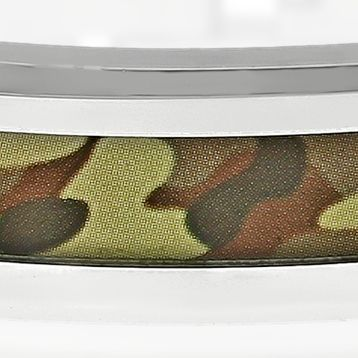 Men: Bracelets Sale: Brown Belk & Co. Men's Stainless Steel Camouflage Bracelet