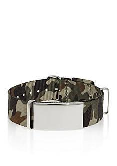 Belk & Co. Men's Stainless Steel Camouflage ID Bracelet
