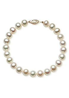Amour de Pearl Freshwater 8-inch Pearl Bracelet